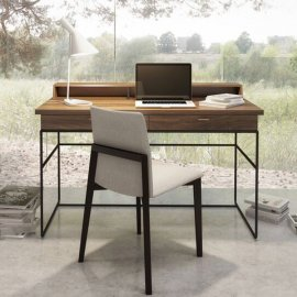 Linea Secretary Desk 02303M by Huppe