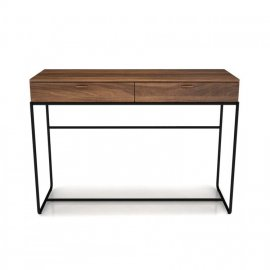Linea 2 Drawer Console Table 02375M by Huppe