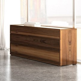 Swan 6 Drawer Dresser by Huppe