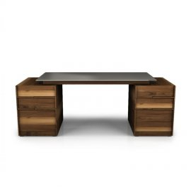 Swan Desk Configuration 2 by Huppe