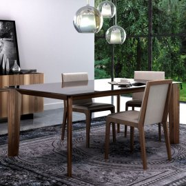 Magnolia Dining Table Glass by Huppe