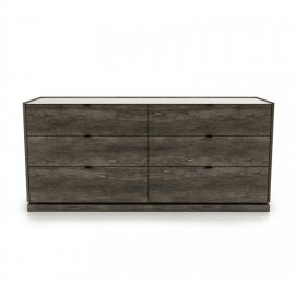 Cloe 6 Drawer Dresser 1900 by Huppe