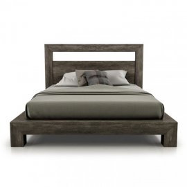 Cloe Bed (All Wood) by Huppe