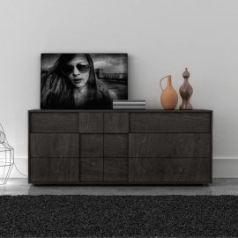 Cubic 6 Drawer Dresser 004135 by Huppe