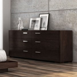 Paris 6 Drawer Dresser 004235 by Huppe
