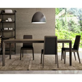 Outline Dining Table 1400 by Huppe
