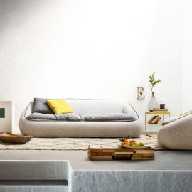 Bamboo Sofa by Alf Dafre