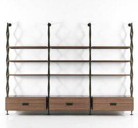 Beam Bookcase by Porada