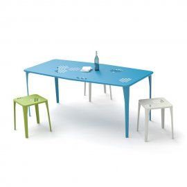 Pattern Rectangular Table 516 by Emu