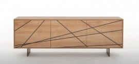 Maya Wooden Cabinet by Tonin Casa
