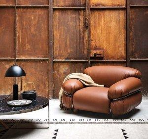 Sessann Armchair by Tacchini