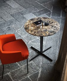 Split Marble Table by Tacchini