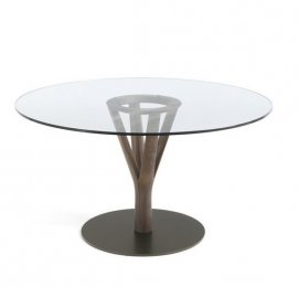 Timber Dining Table by Porada