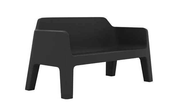 Pedrali Plus Air Sofa Plastic Contemporary Outdoor Patio Furniture From Ultra Modern