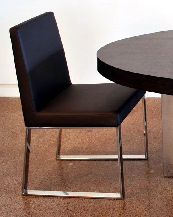 Incroyable Viva Modern Kiera Dining Chair Leather | Dining Room Furniture   Contemporary  Furniture From Ultra Modern