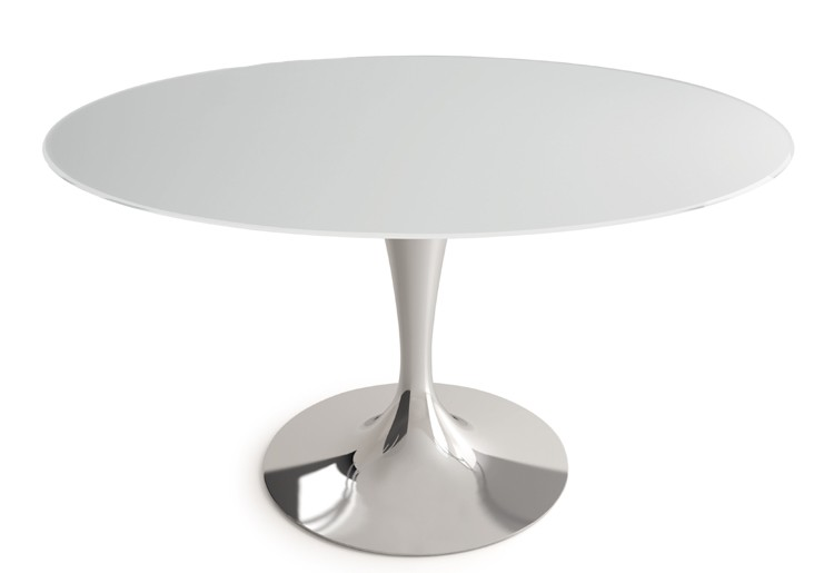 Sovet Flute Dining Table Glass Dining Room Furniture