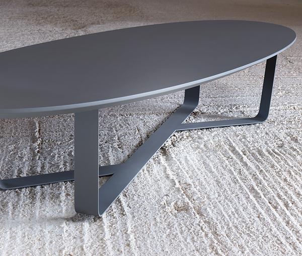 Unico Italia Modern Enigma Glass Coffee Table With Shelf: Miniforms Bino Coffee Tables