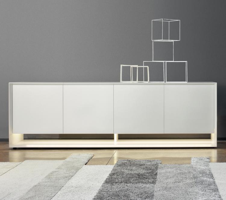 Bonaldo Sunrise Cabinets Wooden Storage Contemporary