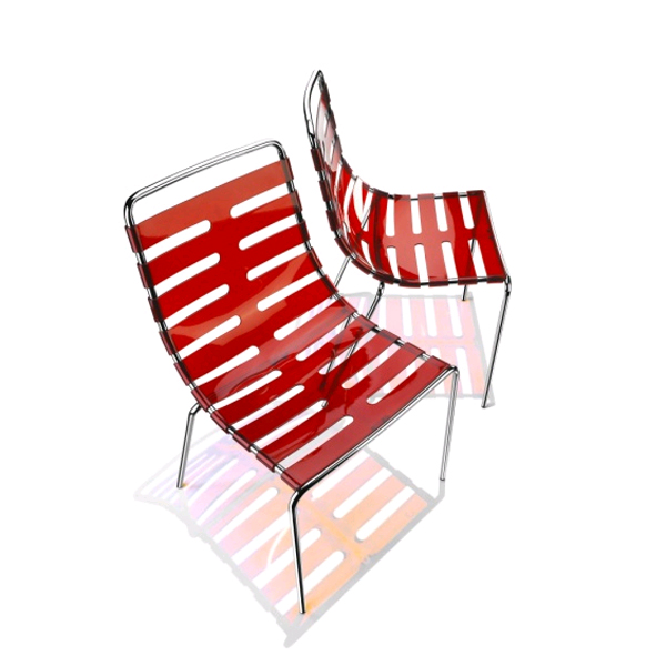 Parri Body To Body Transparent Plastic Chair Dining
