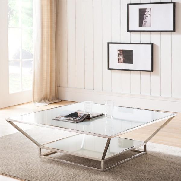 Whiteline Fluidity S Coffee Tables