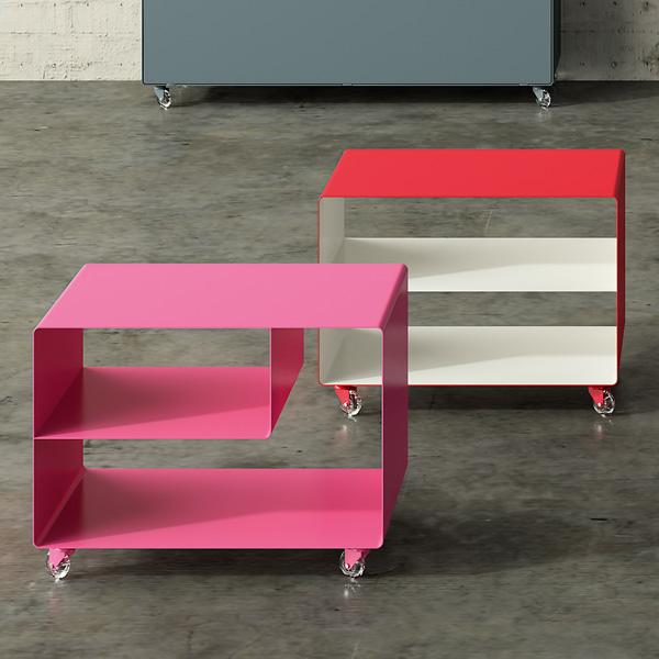 Muller Mobile Line Trolley Storage | Living Room Furniture | Metal ...