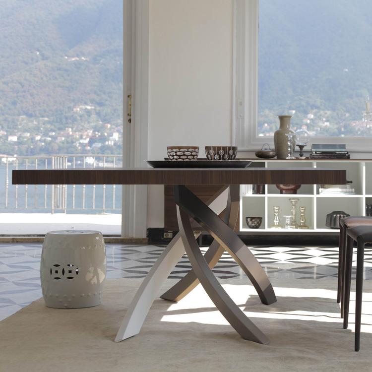 Bontempi Artistico Dining Tables Rectangular Top