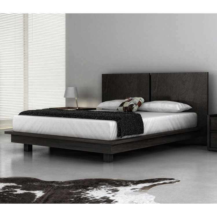 Huppe echo bed wooden bedroom contemporary furniture - Ultra contemporary bedroom furniture ...
