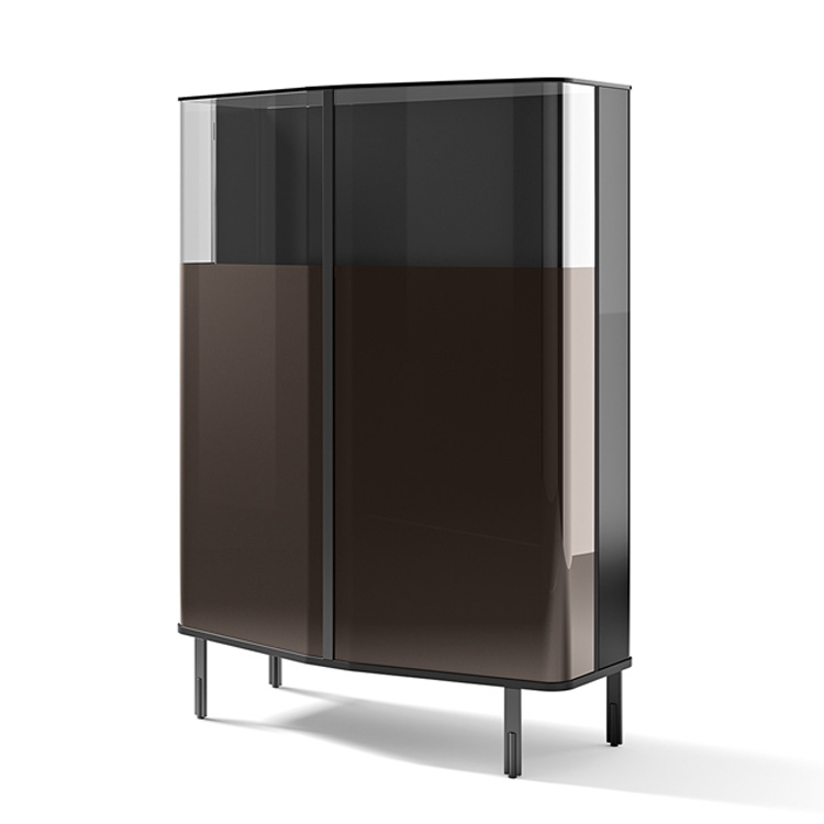 Fiam Plie Sideboard Cabinets Glass Contemporary