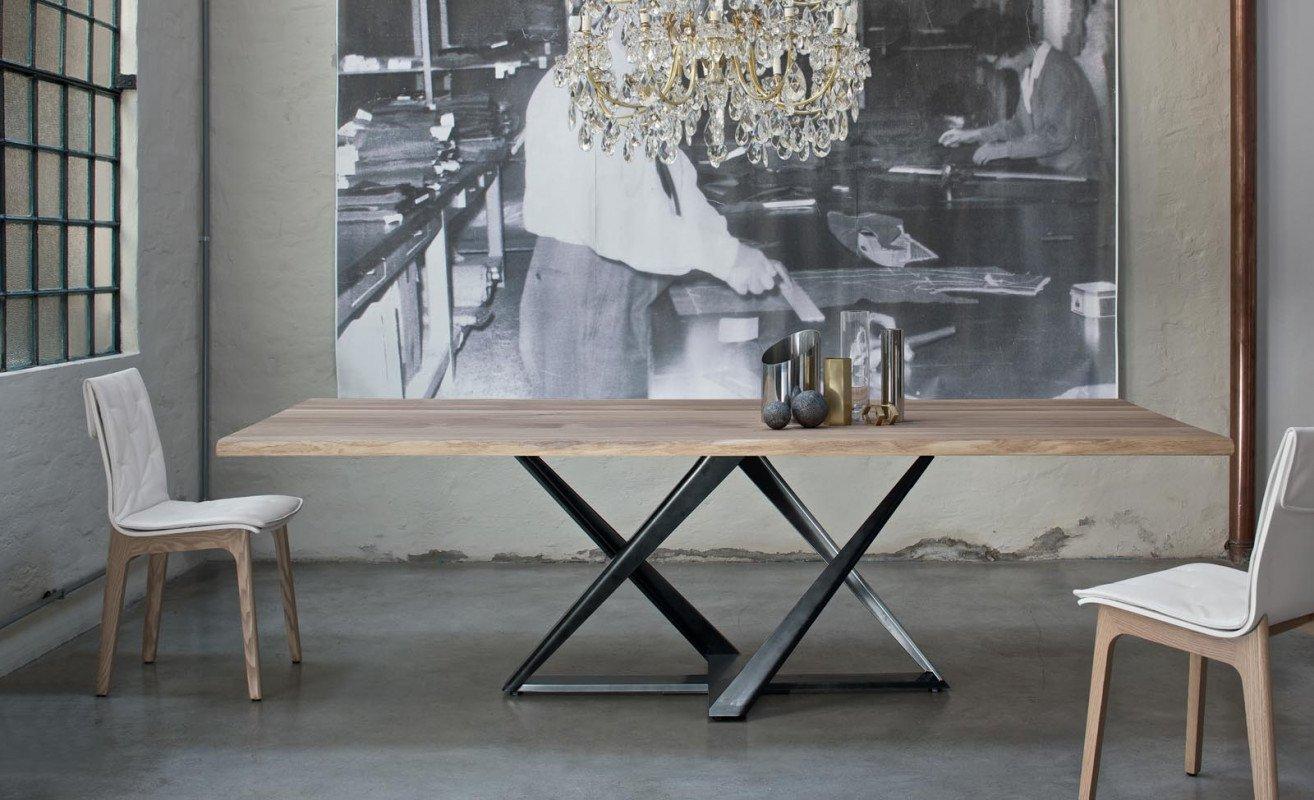 Bontempi Millennium Dining Tables Rectangular Top