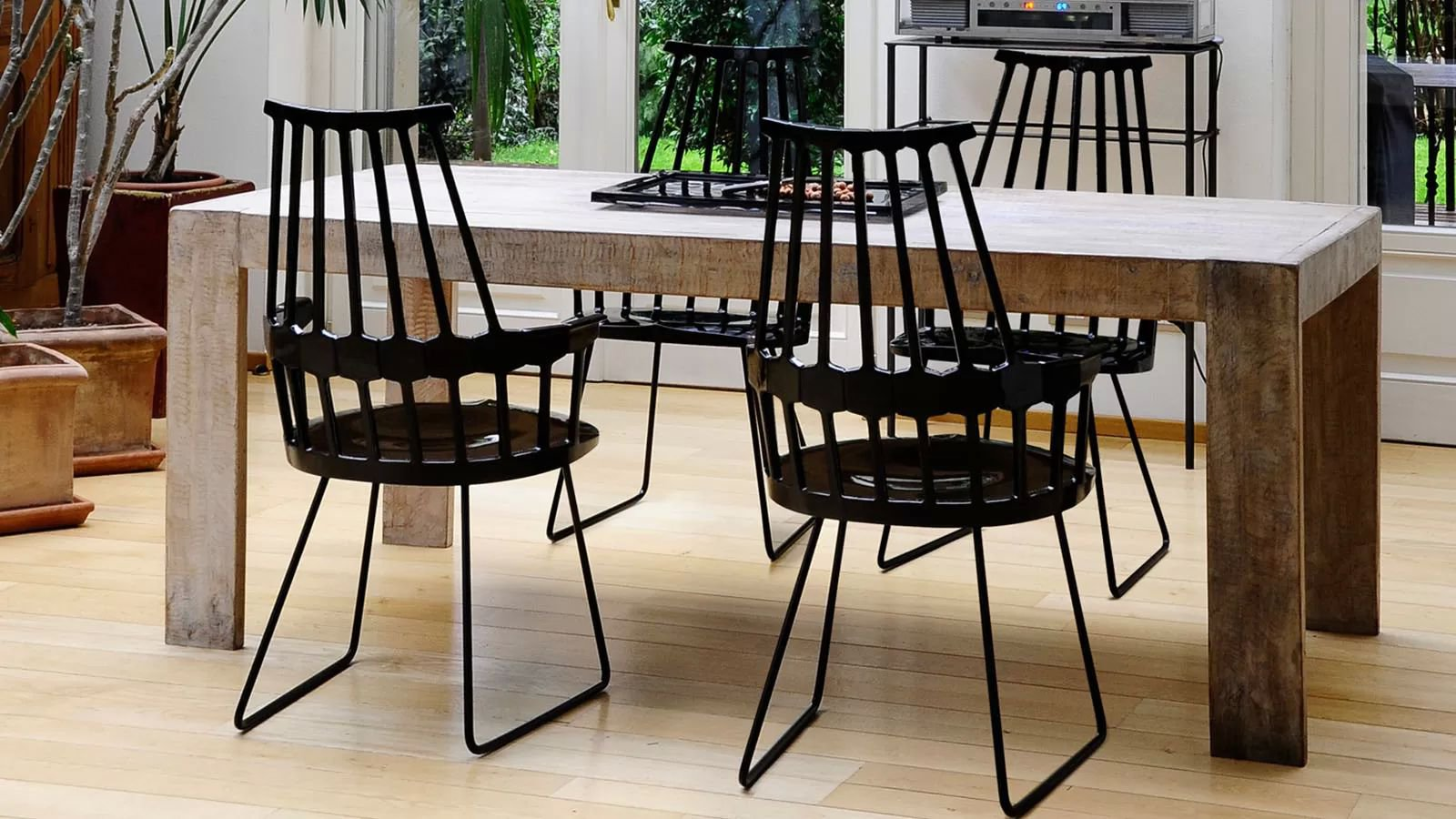 Comback Sled by Kartell & Kartell Comback Sled Plastic | Chairs | Dining Room - Contemporary ...
