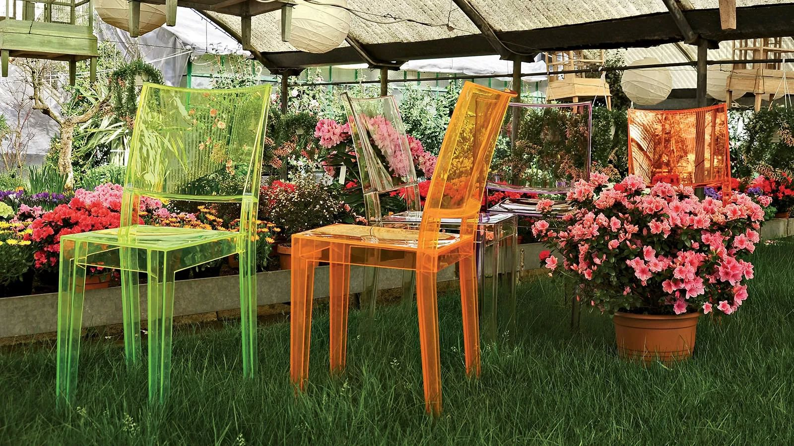Kartell La Marie Chair Plastic | Dining Room Furniture | Outdoor ...