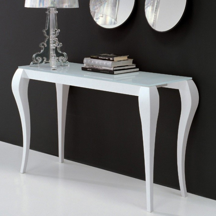 Miniforms Ghost Console Console Table Sofa Table Glass