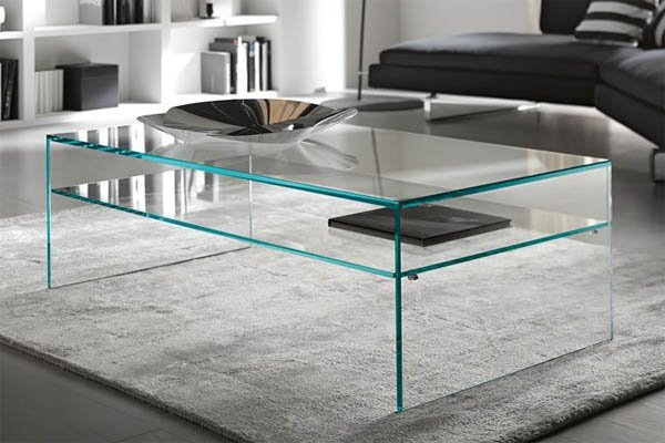Contemporary Furniture From Ultra Modern - Ultra modern glass dining table