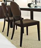 Deja Vu Leather Chairs by Calligaris