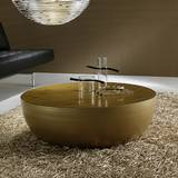Planet Gold Coffee Tables by Bonaldo