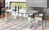 Encio Fixed Dining Tables by Unico Italia