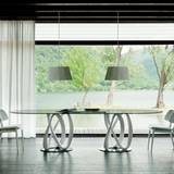 Infinity 2 Base Dining Tables by Porada