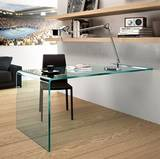 Rialto L a Parete Desks by Fiam