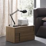 Square Nightstand Cabinets by Rossetto