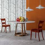 Bonaldo greeny oval dining tables oval elliptical top for Marmortisch modern