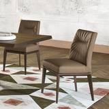 Tosca Leather CS/1490-LH Chairs by Calligaris