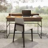 Linea Secretary Desk 02303M Desks by Huppe