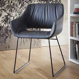 Lili Soft Sled Chairs by Tonon