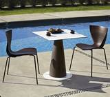 Hopla Square Dining Tables by Slide