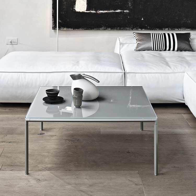 Diagonal coffee table from Bontempi, designed by Guiseppe Casarosa