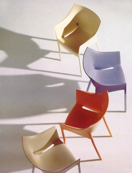 Dr No chair from Kartell, designed by Philippe Starck