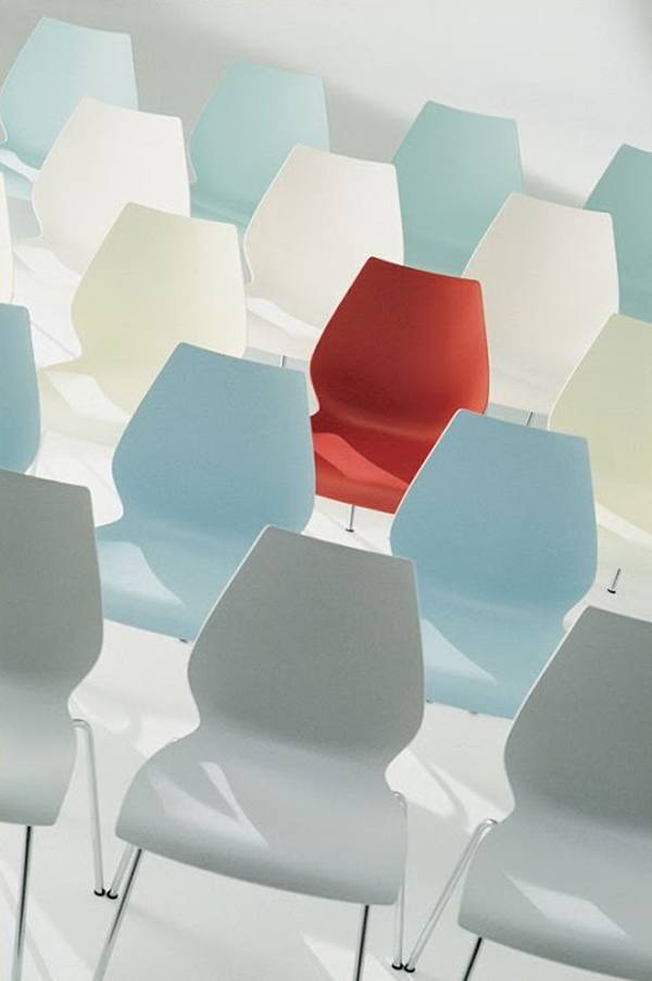Maui chair from Kartell, designed by Vico Magistretti