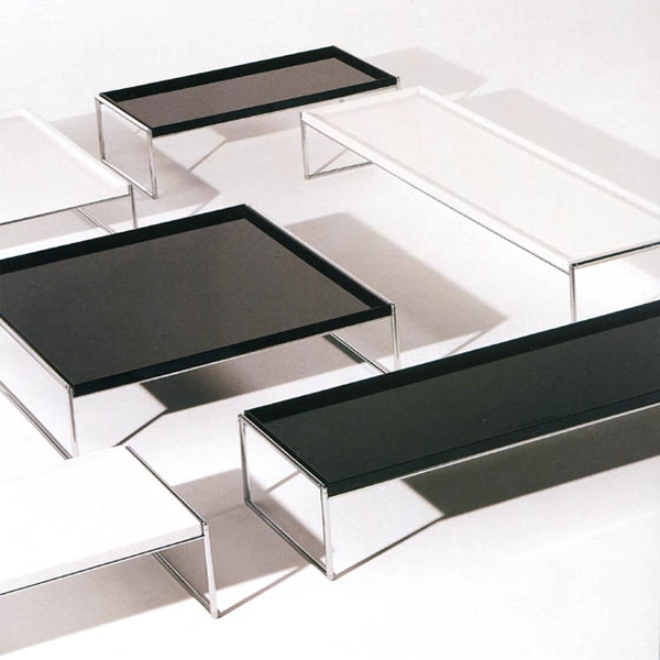 Trays coffee table from Kartell, designed by Piero Lissoni