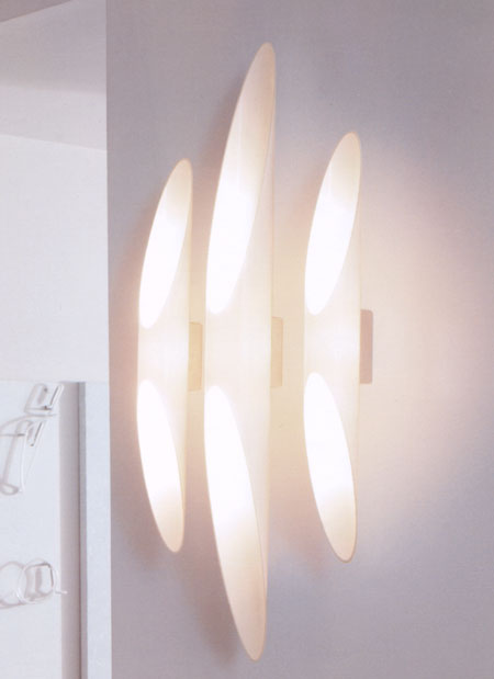 Shakti Wall lighting from Kundalini, designed by Marzio Rusconi Clerici