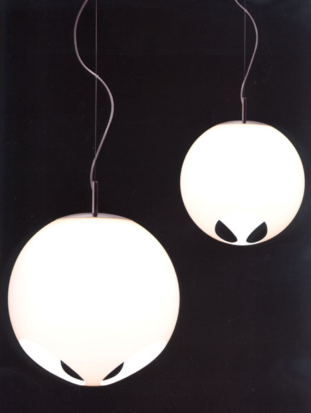 Noglobe Ceiling lighting from Kundalini, designed by Laura Agnoletto and Marzio Rusconi Clerici